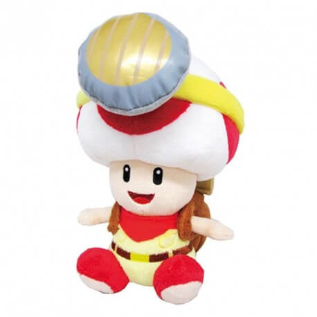 Peluche Mario Bros Captain Toad