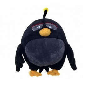 Peluche Angry Birds Noire Bomb