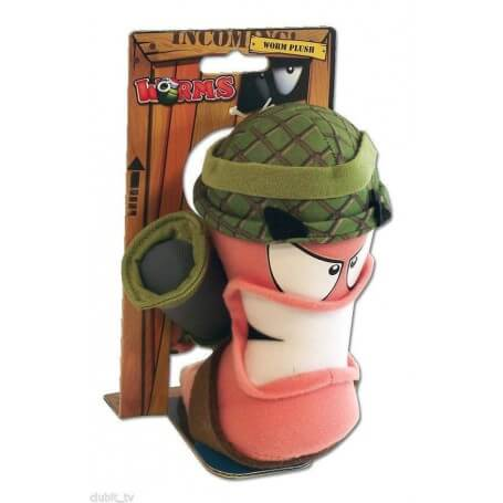 Peluche Worms Army Bazooka