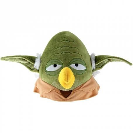 Peluche Angry Birds Star Wars Maître Yoda
