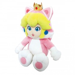 Peluche Mario Bros Chat Peach