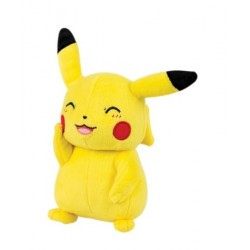 Peluche Pokemon Pikachu souriant