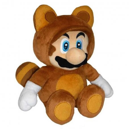 Peluche Mario Bros Tanooki