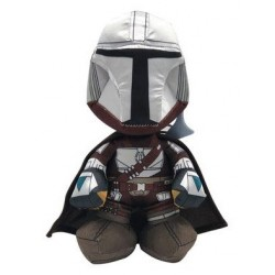 Peluche Star Wars The Mandalorian Warrior