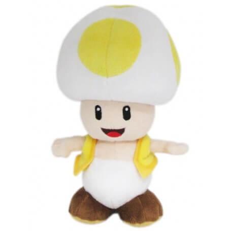 Peluche Mario Bros Toad Jaune