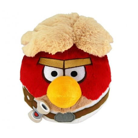 Peluche Angry Birds Star Wars Red Skywalker