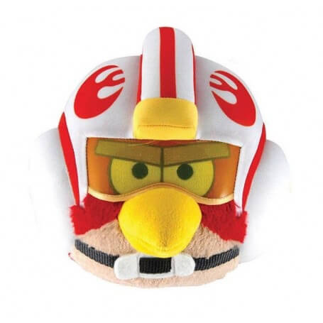 Peluche Angry Birds Star Wars Luke Skywalker Pilote X-Wing
