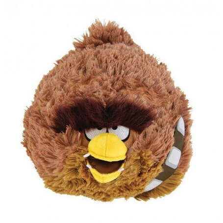 Peluche Angry Birds Star Wars Chewbacca