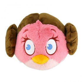 Peluche Angry Birds Star Wars Princesse Leia Organa