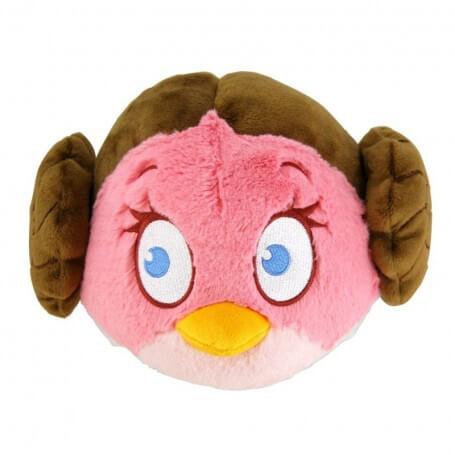 Peluche Angry Birds Star Wars Princesse Stella Organa