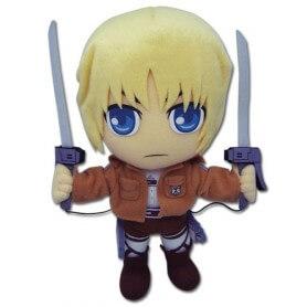 Peluche Attaque des Titans Armin