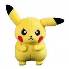 Peluche Pokemon Pikachu en colère