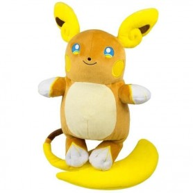 Peluche Pokemon Raichu d'Alola