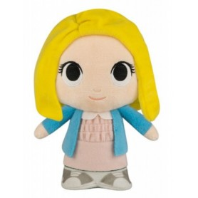 Peluche Stranger Things - Eleven avec perruque