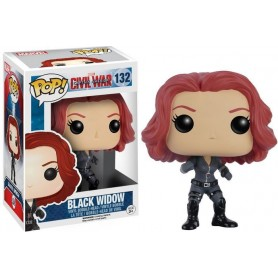 Figurine POP Marvel Black Widow