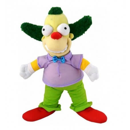 Peluche Simpson Krusty le Clown