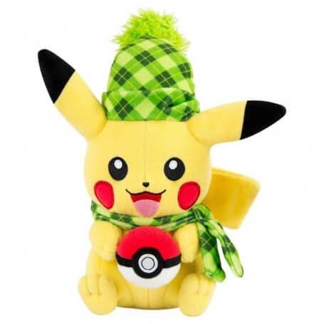 Peluche Pokemon Pikachu Hiver