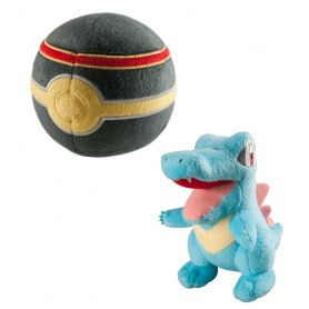 Peluche Pokemon Kaiminus avec Luxe Ball