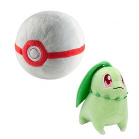 Peluche Pokemon Germignon avec Honor Ball