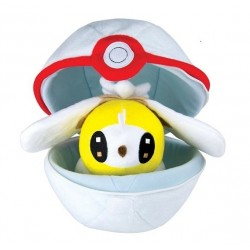 Peluche Pokemon Zipper Ball Bombydou