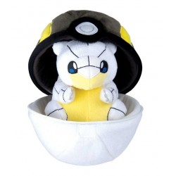 Peluche Pokemon Zipper Ball Sabelette d'Alola