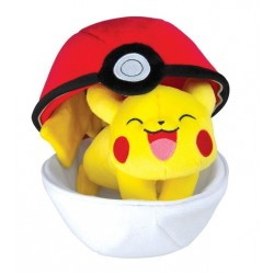 Peluche Pokemon Zipper Ball Pikachu