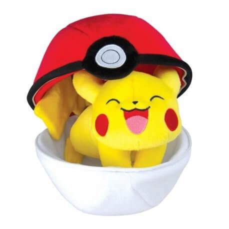 Peluche Pokemon Zipper Ball Pikachu