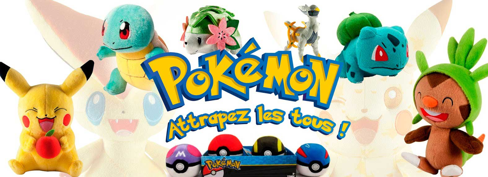 Slideshow Peluches Pokemon